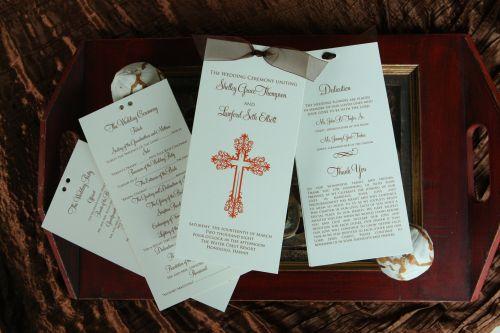 Sample Thank You Wording For Wedding Programs Wiregrass Weddings
