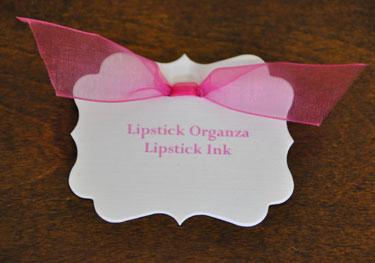 Lipstick Organza Ribbon