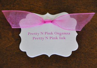 Pretty N Pink Organza Ribbon
