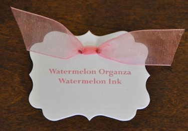 Watermelon Organza Ribbon