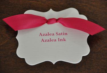 Azalea Satin Ribbon