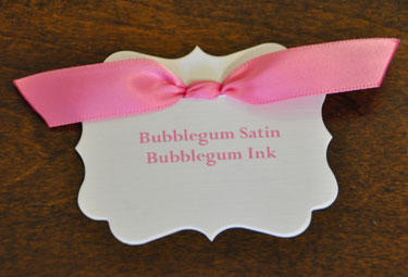 Bubblegum Satin Ribbon