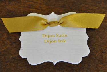 Dijon Satin Ribbon