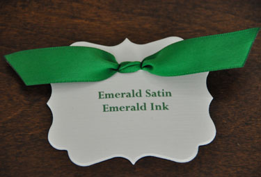 Emerald Satin Ribbon