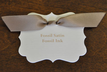 Fossil Satin Ribbon