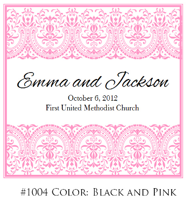 Wedding Program Designs