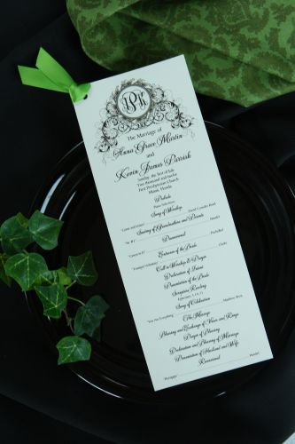 Wedding Programs (Isabella)