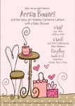 Coffee & Gifts Bridal Shower Invitations