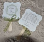 Wedding Favor Fan (Rylee)