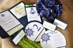 Nautical Wedding Stationery Suite (items sold separately)