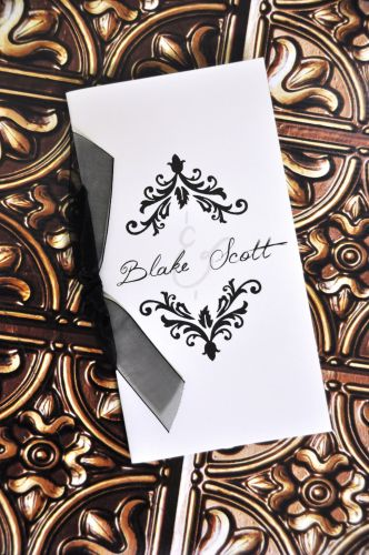 Wedding Program (Blake)