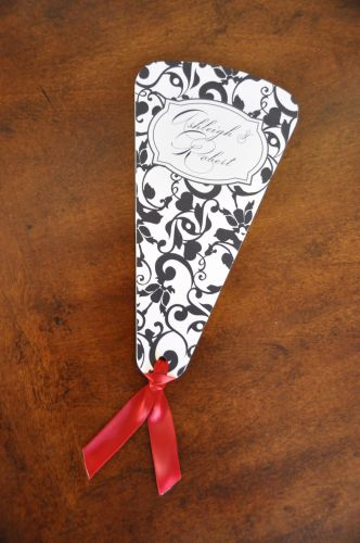 Wedding Program (Holly Fans)