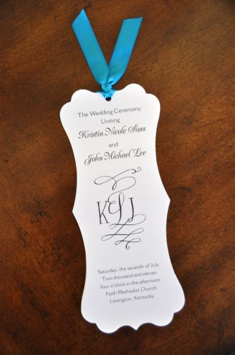 Wedding Program (Kristin)
