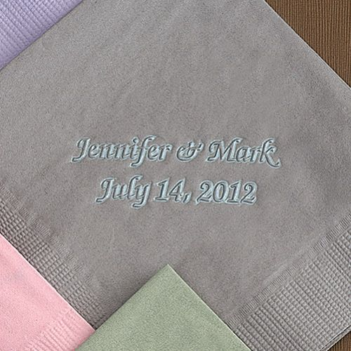 Pearl Color Mist Brittany Napkins