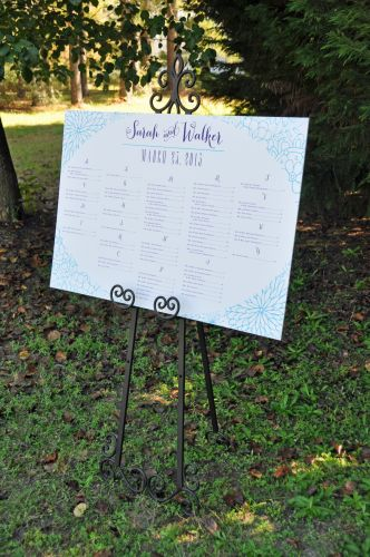 Wedding Reception Seating Chart