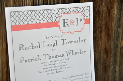 Wedding Program (Kelly)