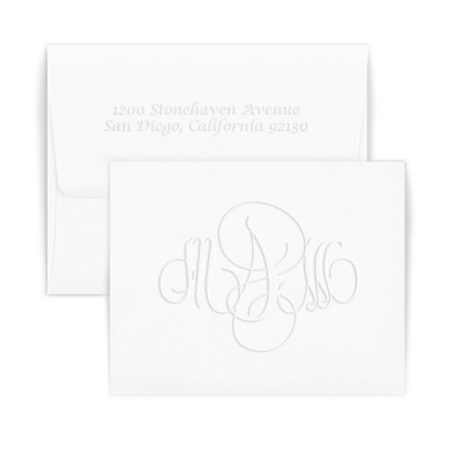 Double Thick Firenze Monogram Note