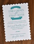 Wedding Invitations (Scalloped)