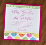 Patterned Perfection Wedding Invitations