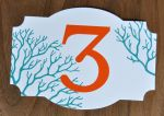 Claire Die Cut Table Number Cards
