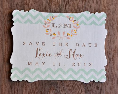 Victorian Save the Dates