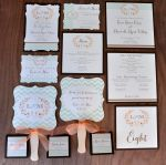 Mint for Us Wedding Stationery Suite (items sold separately)