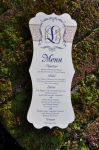 Kristin Die Cut Menu Cards