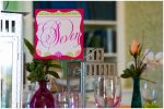 Mounted Shapely Square Table Number Cards