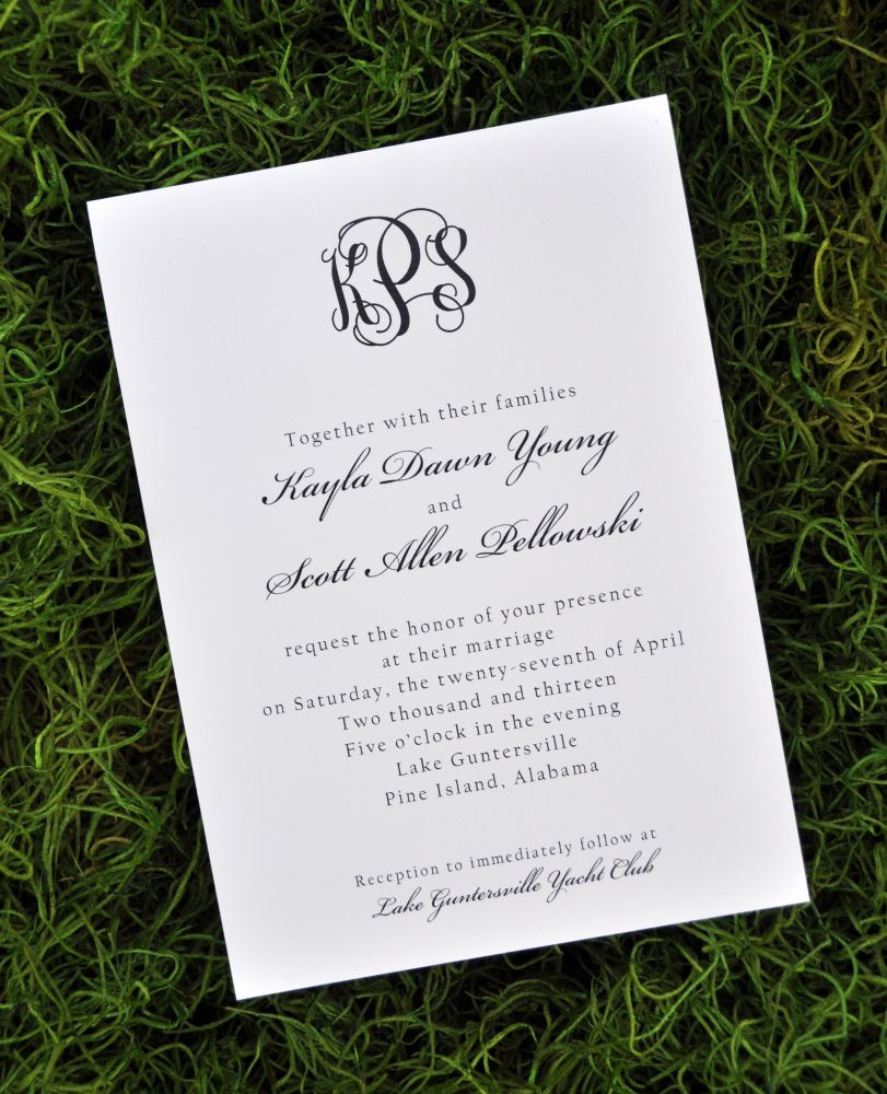 Wedding Invitations (Traditional)