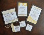Wedding Stationery Set (items sold separately)