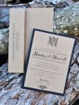 Mounted Wedding Invitations (Rectangle)