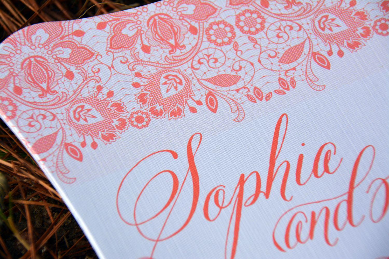 Fan Wedding Programs (Sophia) - Wiregrass Weddings