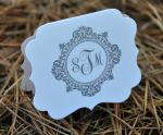 Die Cut Foldover Favor Tags