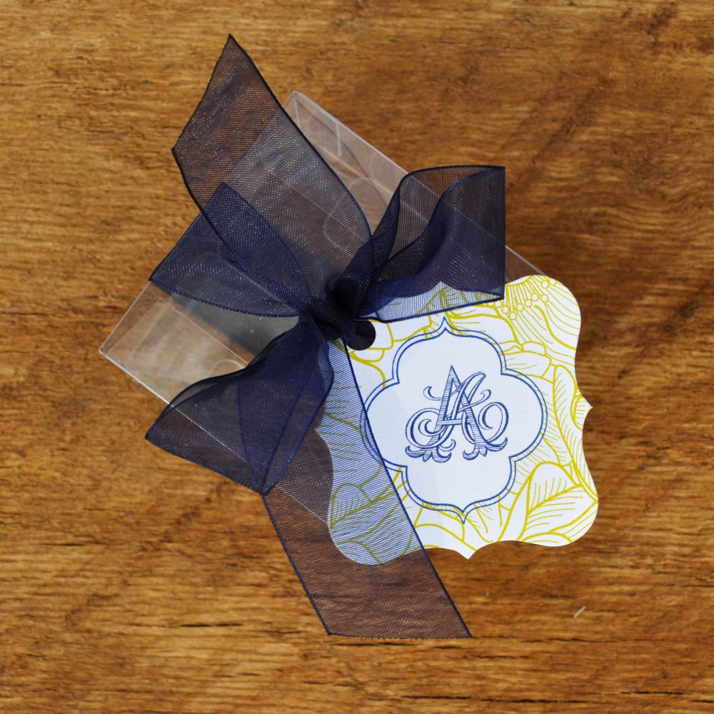 Shapely Square Favor Tags
