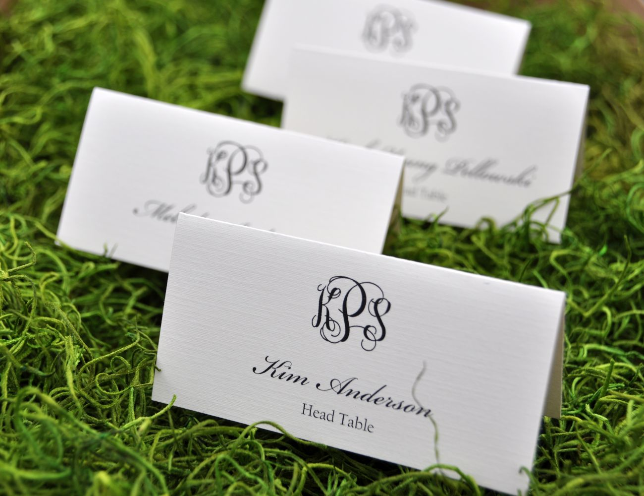 Rectangular Place Cards