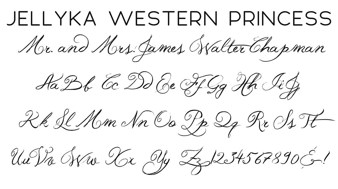 Jellyka Western Princess Script Font
