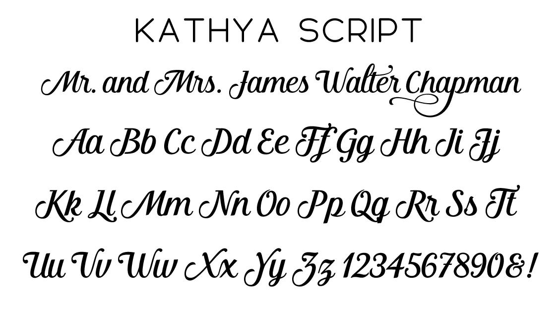Kathya Script Font