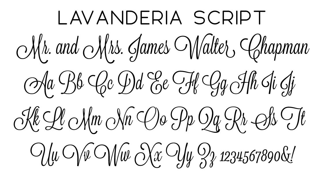 Lavanderia Script Font