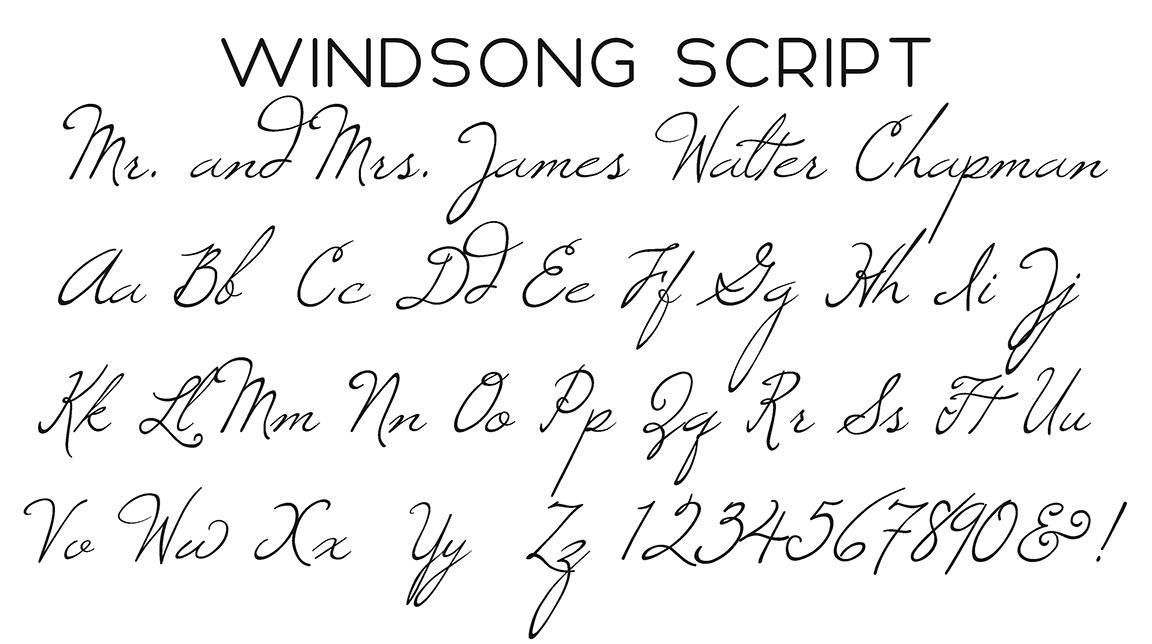 Windsong Script Font